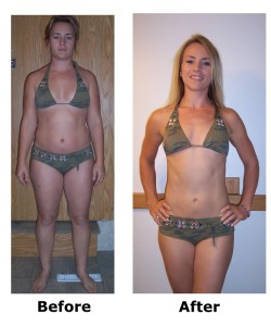 hcg before and afters
